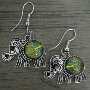 Elephant Earrings (NWOT)